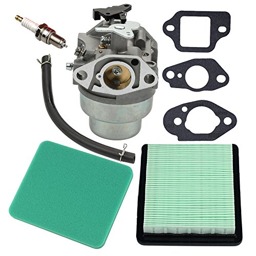 Panari Carburetor + Gasket + Air Filter Spark Plug for Honda GCV160 Engine HRB216 HRR216 HRS216 HRT216 HRZ216 Lawn Mower