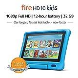 """Fire HD 10 Kids Tablet – 10.1"""" 1080p full HD display, 32 GB, Blue Kid-Proof Case"""