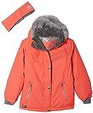 ZeroXposur Girls' Big Laurel Snowboard Jacket, Salmon, Large
