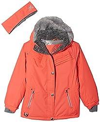 cheap Snowboard Jacket ZeroXposur Big Laurel Girls, Salmon, Small