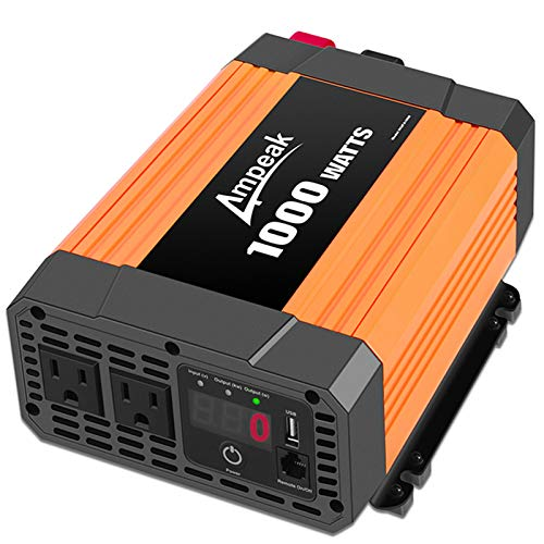 Ampeak 2000W Power Inverter 3 AC Outlets...