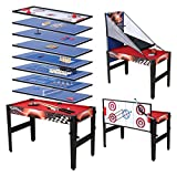 Fran_store 48'' 14 in 1 Multi Game Combination Table,Combo Arcade Game...
