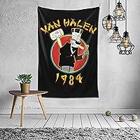 Van Halen タペストリー 壁掛け ポスター 背景布 壁飾り 家 リビングルーム ベッドルーム 部屋 おしゃれ 100*150cm