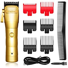 PROFESSIONAL HAIR CLIPPER: From Kemei professional hair clippers commercial products, the Kemei 2850 clipper is designed for smooth, sharp, precise performance that with cordless and high quality. We try our best to provide excellent hair clippers an...