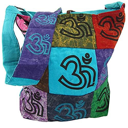 Indische Yogi Handtasche Freizeittasche mit langen Träger t-814