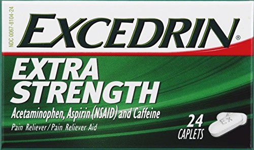 Excedrin Extra Strong Caplets, 24 ct