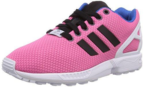 adidas Originals ZX Flux B34502, Unisex-Erwachsene Low-Top Sneaker, Rosa (Semi Solar Rosa/Core Schwarz/Off Weiß), EU 41 1/3