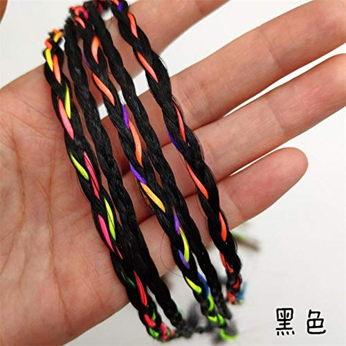 Cheveux Accessoires Perruque Élastique Bande de Cheveux Princesse Twist Tresse Outil Bandes De Caoutchouc Simple Cravates Bandeaux Pour Femmes Filles
