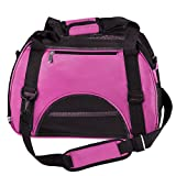 image of Portable Pet Carrier Messenger Bag Airline Approved Travel Crate Tote for Pet Dog or Cat by Yerwal