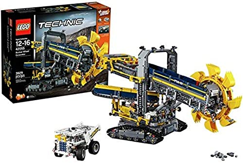 Building Kit Lego Technic 42055CompartiHommest Wheel Excavator