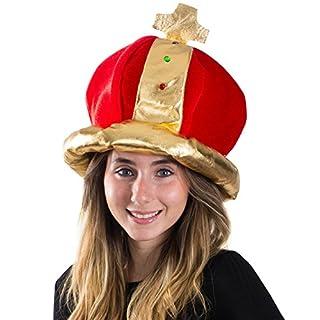 سعر Funny Party Hats Royal Jeweled King's Crown - Costume Accessory
