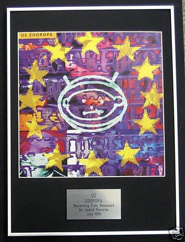 UK Music Awards u2-Cornice für LP, Zooropa
