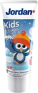Jordan Kids Toothpaste, 0-5 Years, 50ml ' 1 Units