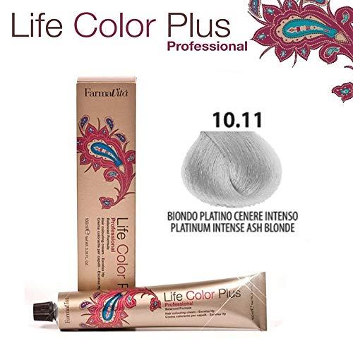 FarmaVita Life Color Plus Haarfarbe 100ml 10.11 Platinblond Asch intensiv