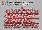 Ecoshirt R6-VLUA-ULYI Aufkleber Ghost F188 Vinyl Adesivi Decal Aufkleberbögen ungemŸ MTB Stickers...