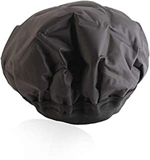 Cordless Heated Gel Cap Hair Therapy Wrap Used with Oil or Conditioner for Deep Penetrating Hair and Scalp Treatments