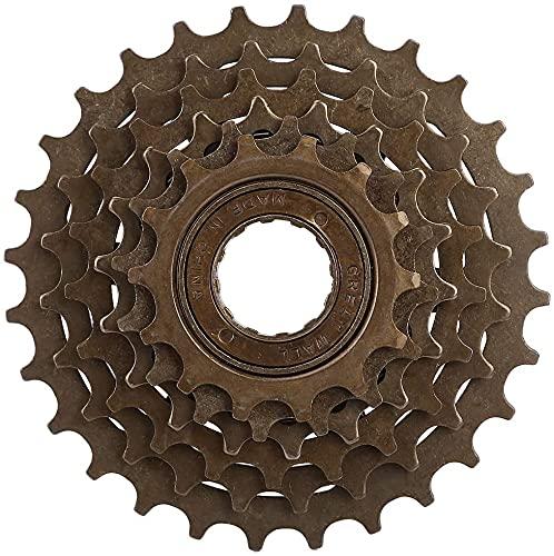 YOOBB Flywheel De 7 Velocidades Variable Speed Tower Wheel Bike Mountain Bike De 7 Velocidades Spinning Sin Posicionamiento Flywheel De 21 Velocidades