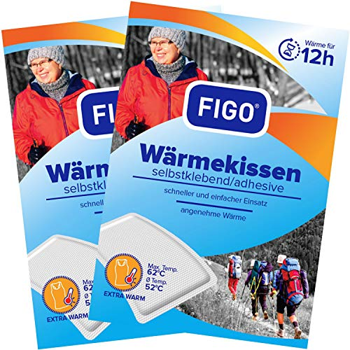 2er Pack Wärmekissen 12h, Wärmespender, Wellnesprodukt für Massage & Entspannung, 0106-2er