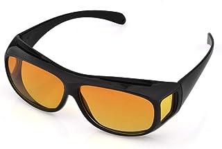 Anti-UV Night Vision Glasses Polarized Wrap Around Prescription Eyewear Outdoor Fishing Eyewear Unisex Multifunction HD Vi...