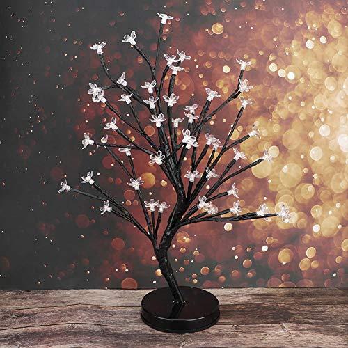 Oumefar Lampe d'arbre écologique Unique résistante à la Chaleur veilleuse à Faible consommation d'énergie pour Le Bureau pour Le Salon