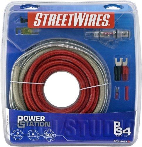 Streetwires PSK04RI Power Station Amp Kit 4 Awg