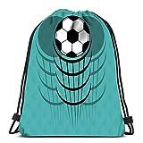 NA Rucksack-Beutel 2016 EM Frankreich Ball und Flaggen-Farben Sport Lagerung Polyester-Beutel für Gym