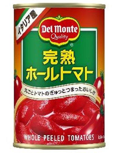 デルモンテ 完熟ホールトマト 400g 24個