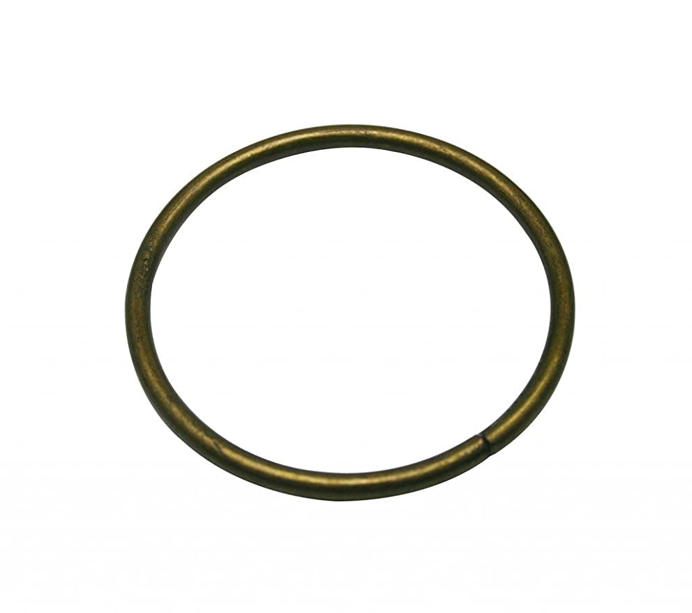 Generic Metal Bronze Large Size Annular Ring Buckle 3