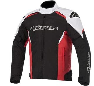 Alpinestars Gunner Waterproof Jacket (Medium) (Black/White/RED)