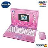 VTech- Ordenador Genio Master Color bilingüe Rosa, única (3480-133867)