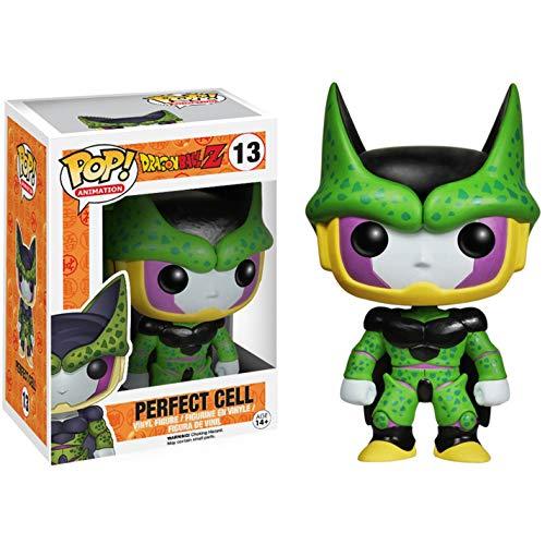 Funko Perfect Form Cell: Dragonball Z x POP! Animation Vinyl Figure & 1 POP! Compatible PET Plastic Graphical Protector Bundle [#013 / 03992 - B]