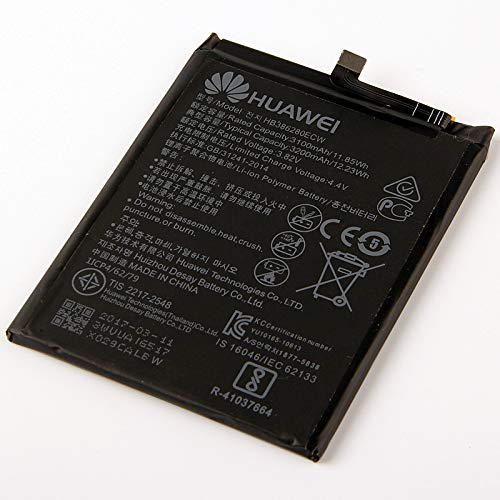 Batteria Originale Bulk Huawei - 3200 mAh con Carica Rapida 2.0 Per Huawei P10 - Senza Scatola