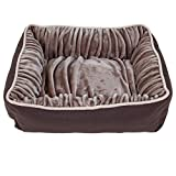 Petmate Dig and Burrow Nuzzle Ortho Bed, 24 by 20-Inch