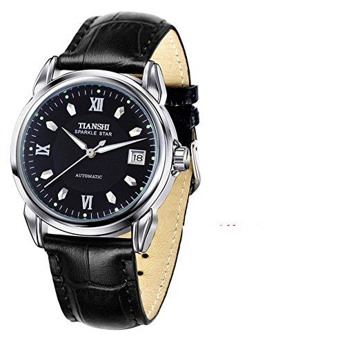 Relojes mecánicos automáticos/Hombre con un Reloj Luminoso
