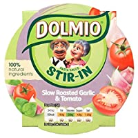 Dolmio攪拌・トマト&ガーリックパスタソースの150グラム - Dolmio Stir-in Tomato & Garlic Pasta Sauce 150g [並行輸入品]