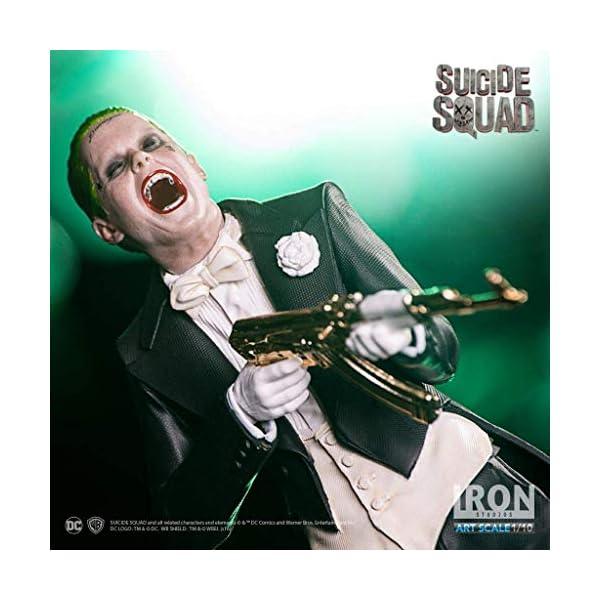 Iron Studios IS353571 Suicide Squad The Joker Figura de Escala 1:10 3
