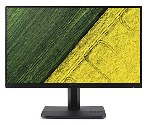 2020 Acer 24 23.8' FHD IPS Widescreen Monitor, 1920 x 1080 Resolution, ZeroFrame, Ultrathin ComfyView Display, 60Hz Refresh Rate, 4 ms Response Time, 250 cd/m² Brightness, Black, SPMOR HDMI Cable 3ft