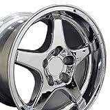 OE Wheels LLC 17 Inch Fits Chevy Camaro Corvette Pontiac Firebird ZR1 Style CV01 Chrome 17x11 Rim