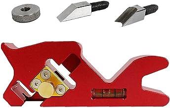 Handmatige houten schaafmachine 45 graden afschuiningsgereedschap ontbramen trimvliegtuig voor timmerman rood