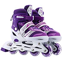 Szulight Kids Adjustable Inline Skates