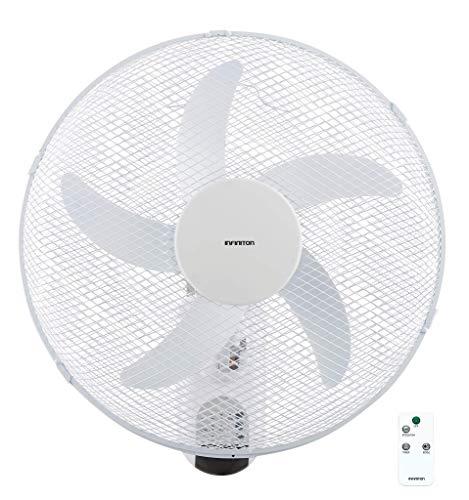 INFINITON Ventilador de Pared WN-42R 40cm, 3 velocidades, Amplia Cobertura, 230v/50hz/60w (Control Remoto)