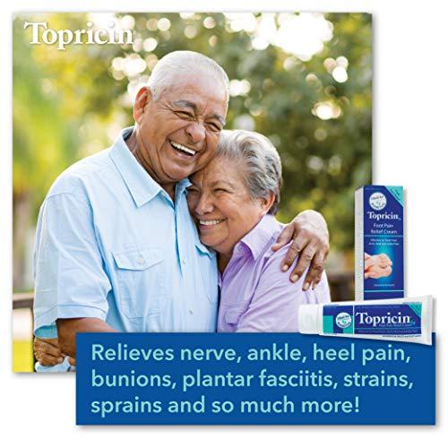 Topricin Foot Pain Relief Cream (2 oz)