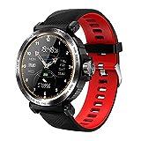 Smart Watch, IP68 impermeabile orologio intelligente da uomo cardiofrequenzimetro Fitness Tracker Lady Smartwatch per IOS Android (B)