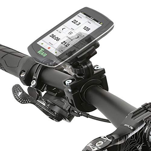 Wicked Chili Fahrradhalterung kompatibel mit Teasi one4 / one3 Extend / one3 / one2 / one/Core/Pro Pulse und SMAR.T Power (Sicherungsgummi/QuickFix-System/Made in Germany) schwarz
