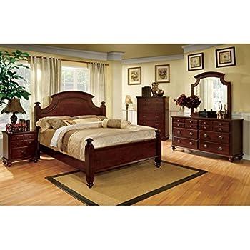 Amazon.com: 7SHOPATHOME bedroom-furniture-sets, King, Cherry