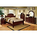 247SHOPATHOME bedroom-furniture-sets, Queen, Cherry
