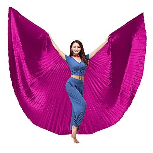 BellyLady danza del vientre disfraz egipcio de alas de Isis con de incienso, 360grados ala