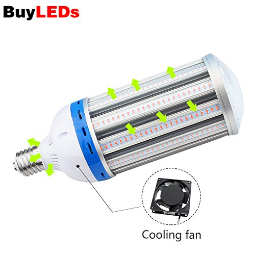 WYZM Led-groeilamp, 100 W, volledige spectrum, 6000 lumen, led-groeilamp, full-spectrum, binnentuin, plantengroei, licht, hanglamp voor kamerplanten (Grow light-100W)