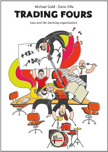 Couverture du livre Trading Fours: Jazz and the Learning Organization (English Edition)