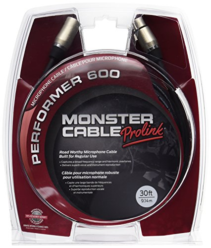Monster Prolink Performer 600 Pro Audio XLR Cable